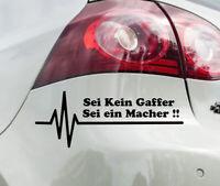 Auto Rettungsgasse Aufkleber Herzschlag Feuerwehr Sticker Gaffen Leben  Stau