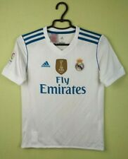 Real Madrid jersey kids 2017/2018 Home WHITE adidas shirt 11-12 years/M/152