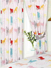Horse White Curtains £17.95 - £19.95