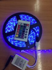 RGB LED Strip Light, inside or out WATERPROOF 12V with remote control