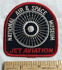 National Air & Space Museum Jet Aviation Engine Turbine Souvenir Patch