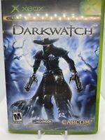 Darkwatch (Microsoft XBOX, 2005) Complete No Manual Capcom