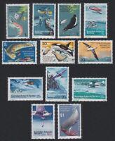 Australian Ant. Terr. Antarctic Birds and Fauna 12v MNH SG#23-34 MI#23-34