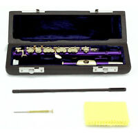 HOLIDAY - SALE! Approved SKY Metallic Purple Piccolo w Gold Keys LIMITED