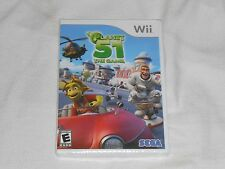 NEW Planet 51 The Game Nintendo Wii Game FACTORY SEALED Sega planet51 area plant