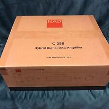 2017 NAD C388 Stereo integrated amplifier with built-in DAC and Bluetooth