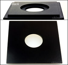 """1 Lens Board 5.2"""" x 5.2"""" for Burke&James 5 x 7"""",or 4 x 5""""- undrilled/ free holes"""
