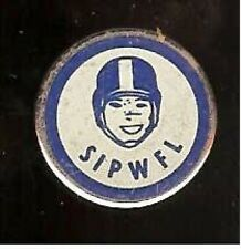 old SIPWFL coin disc token medallion