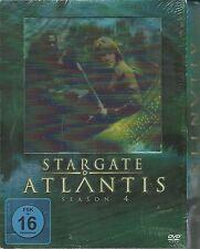 Stargate Atlantis Season 4 (5 DVDs) Neu OVP Sealed  Deutsche Ausgabe Hologram