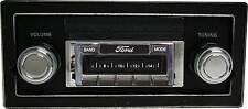 NEW 200 watt Custom Autosound AM FM Stereo Radio 1973-1979 Ford Truck Aux inputs