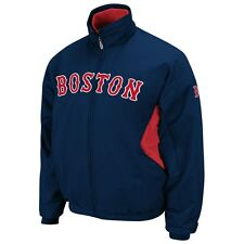 MLB Majestic Authentic Boston Red Sox Therma Base Jacket New Big Mens Size 6XL