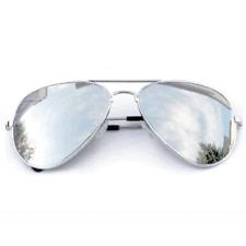 Argent Classique miroir Lunettes de Soleil de Pilote Fashion UV400 Shades Femmes Hommes UV400