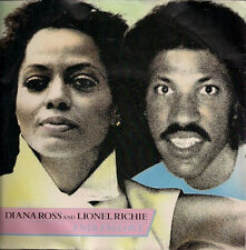 "Diana Ross & Lionel Richie Endless Love +Instrumental UK 45 7"" sgl +PicSlv Tamla"