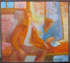 Theresa Bernstein c.1960s Fauve painting Philadelphia Ten woman PA artist