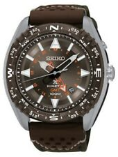 NEW SEIKO PROSPEX KINETIC DIVERS GMT SUN061 BROWN DIAL