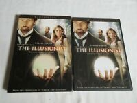 The Illusionist DVD (Widescreen) Edward Norton Jessica Biel Paul Giamatti