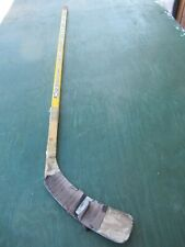 "Vintage Wooden 54"" Long Hockey Stick Ccm Vector"