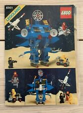 VTG 1984 Lego Instructional Booklet 6951 Legoland Laminated Space