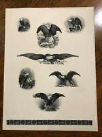 """RARE F-1983G Forerunner BALPEX """"Eagles"""" Souvenir Proof Card/Sheet only 98 Made!"""