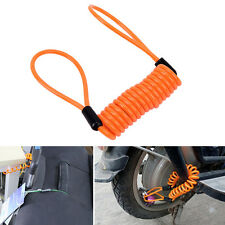 Anti-theft  Rope Motorcycle Bike Scooter Luggage Alarm Disc Lock CablePX