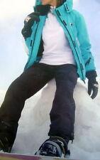 Snowboardanzug Skianzug teils Neu S 36 38 türkis schwarz weiß