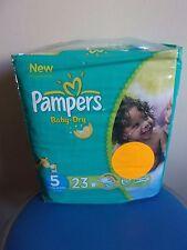 PAMPERS Baby-Dry 23 Couches pour bébé de 11-25 kg T 5 / 12 Heures de protection