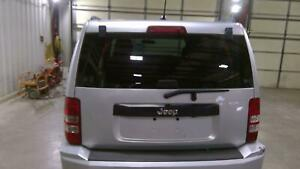 2008-2012 Jeep Liberty Trunk Hatch Tailgate Privacy Tint ~ Bright Silver (PS2)