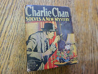 Biggers, Earl. Inspector Charlie Chan Solves New Mystery, Whitman,1ST, 1459,1940