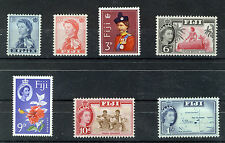 FIJI 1962-1966 DEFINITIVES SG311/317 BLOCKS OF 4 MNH
