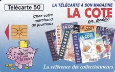 RARE TELECARTE 50. LA COTE EN POCHE. FRANCE TELECARTE. décembre 1994. PHONE CARD