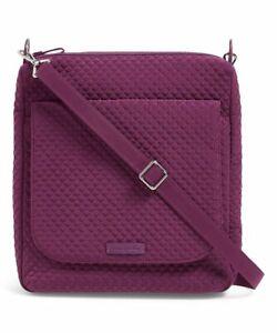 Vera Bradley Carson Mail Bag Gloxinia Purple