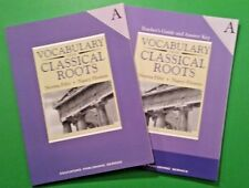 Set - Vocabulary From Classical Roots A Lessons + Teacher's Guide and Answer Key