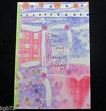 Leanin Tree Thinking Of You Friendship Greeting Card Multi Color R153