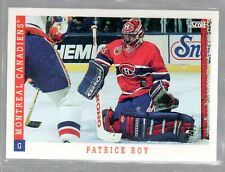 1993/94 SCORE CARD #315 PATRICK ROY MINT COND.