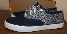 SPERRY TOP SIDER LACE UP NAVY BLUE COMFY CUSHY INSOLE SHOES WOMEN'S SIZE 9.5M