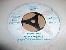 "JIMMY FREY "" ROSAS A SANDRA "" 7"" SINGLE SPAIN 1971 EXIT RECORDS VG+"