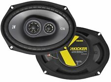 "Kicker 43CSC6934 CS Series 6"" x 9"" 3 way Car Speakers (Pair)"