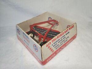 Vintage Tru-Scale Hay Rake - New And Sealed In Box