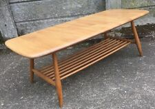 Ercol Rectangle Solid Wood Nested Tables