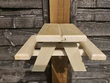 Squirrel Picnic Table and Bird Feeder, Small. Voted no1 for build quality! UK