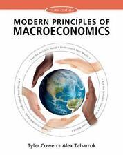 Modern Principles of Macroeconomics by Tyler Cowen and Alex Tabarrok (2014,...