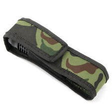 Camo Holster Case Bag Pouch Protector For Flashlight Torch Lamp Oilproof Strey_