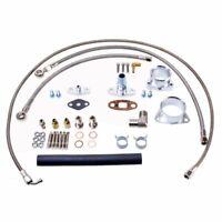 TRITDT Turbo Oil & Water Full Kit For Nissan TD42 Safari Patrol GQ w/ HT18 turbo