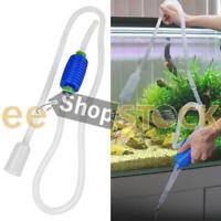 Aspirateur de fond aquarium tuyaux siphon de nettoyage gravier sable et eau ESS