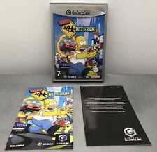 Jeu Nintendo Gamecube The simpson's hit and run Choix Des Joueurs Pal Complet