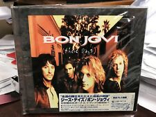 Bon Jovi These Days Japan OBI Cd Rare Phcr-1370 Mercury Digibook 1995 SEALED