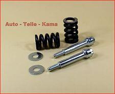 2 x Montage Schrauben + 2 x Feder für Peugeot Abgasanlage , Auspuffanlage