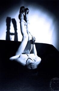 MARC WOLFF - BONDAGE BDSM - TIRAGE ORIGINAL - TAMPON & MONOGRAMME - 24x30 cm.