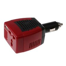 New 100W Car Inverter DC 12V To AC 220V Power Adapter USB 5V For PC Phone Charge
