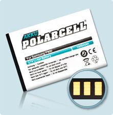PolarCell Akku für Samsung GT-E1130 GT-E1170 GT-E1180 GT-E2121B Batterie Accu